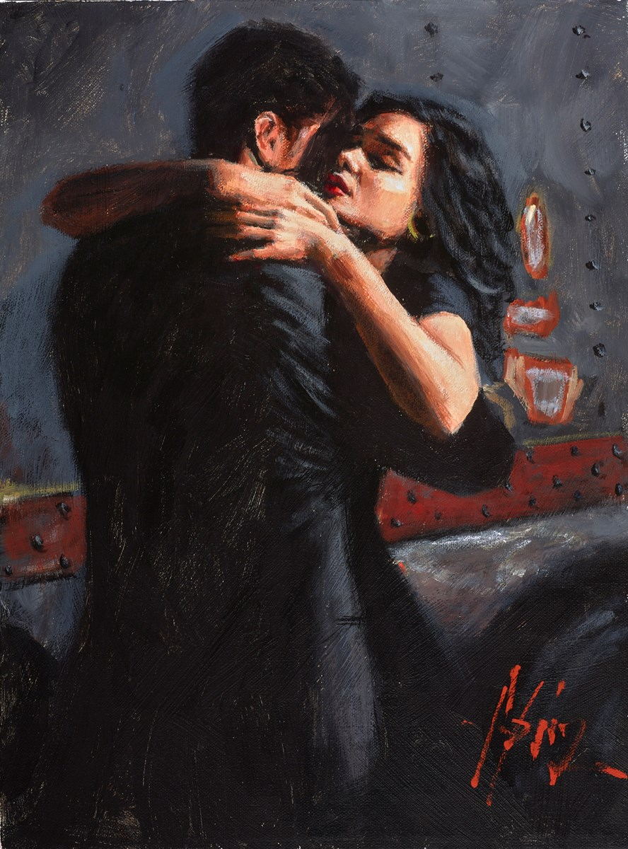 Study for The Embrace III (Train Station)